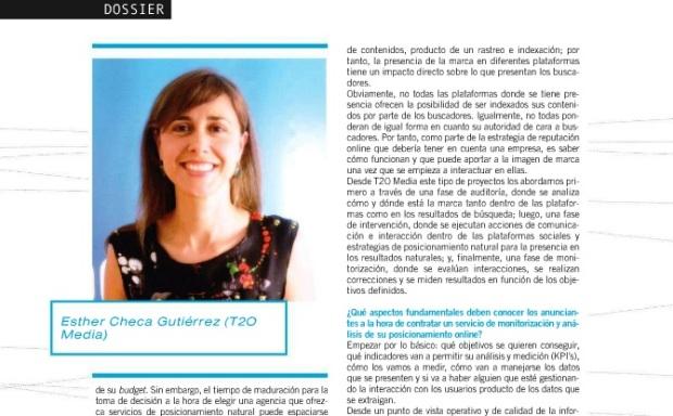 Esther Checa, entrevista Interactiva ORM y Buscadores