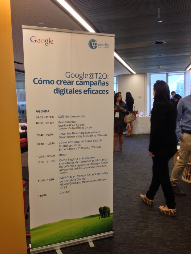 Ponencia Google@T2O. Cómo crear campañas digitales. 10 de Junio 2014