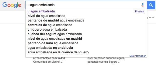Cómo buscar en Google con puntos suspensivos